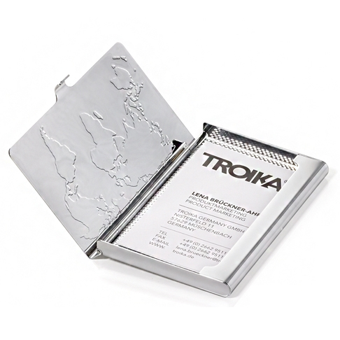 Визитник TROIKA - BUSINESS WORLD
