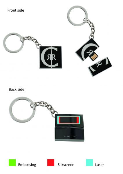 Cerruti USB 4GB Label