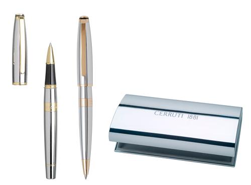 Cerruti Комплект Химикалка и Ролер Bicolore
