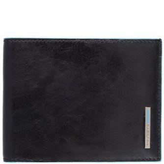 Мъжки портфейл Piquadro със 7 отделения за кредитни карти