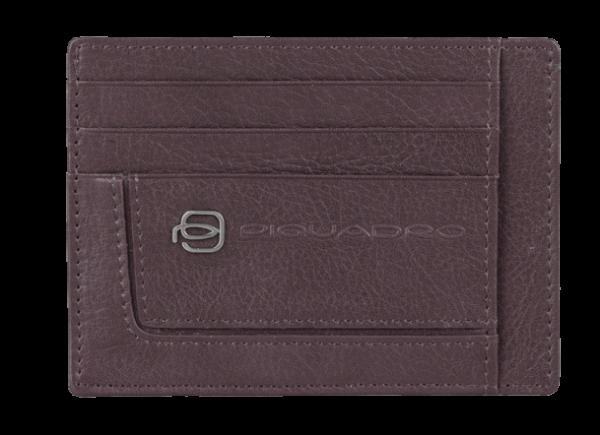Калъф Piquadro с 6 отделения за кредитни карти