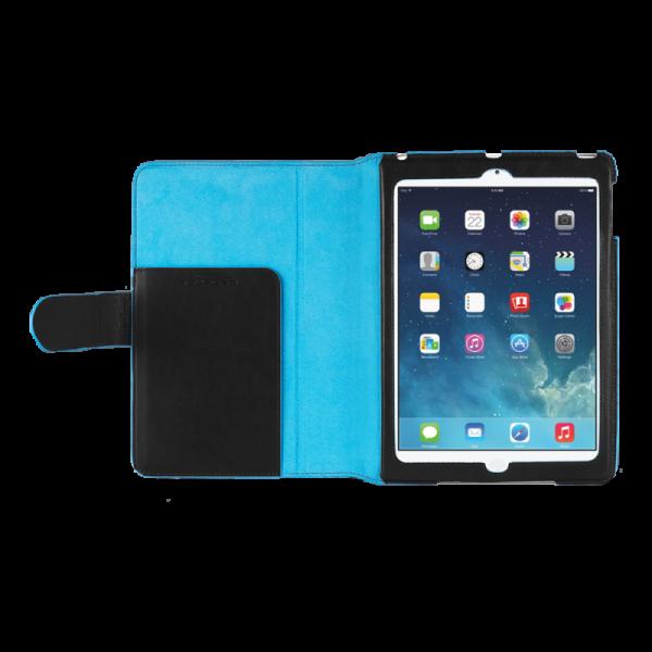 "Стоящ кожен калъф за iPad Air с автоматична ""sleep-awake"" функция"