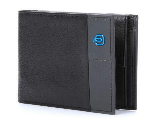 Мъжки портфейл Piquadro с 4 отделения за кредитни карти