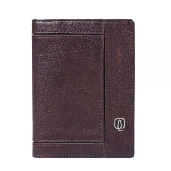 Мъжки портфейл Piquadro с 10 отделения за кредитни карти