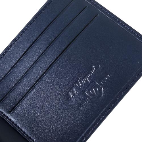 Портфейл S.T. Dupont Line D с 6 отделения за кредитни карти