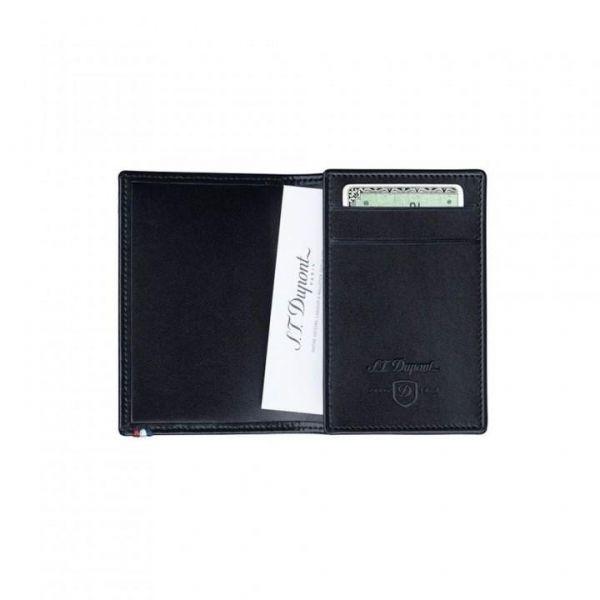 Визитник S.T. Dupont с 2 отделения за кредитни карти