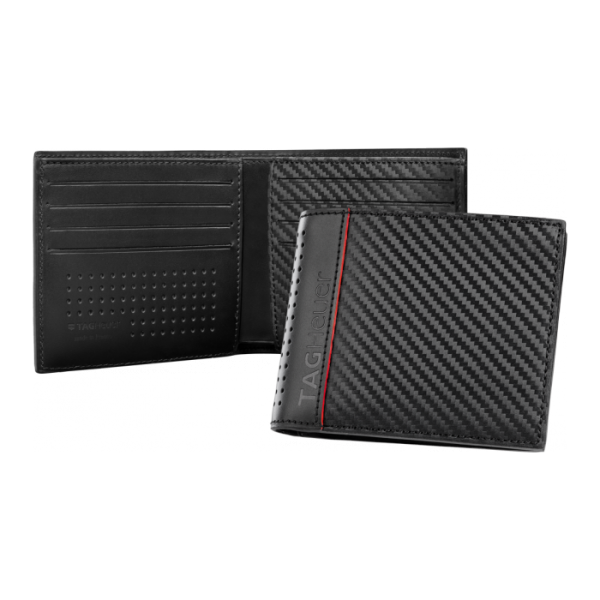 Портфейл Racing Men's Black leather 4 card slot