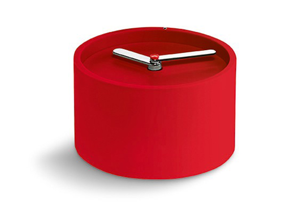 Часовник за стена TIM - червен
