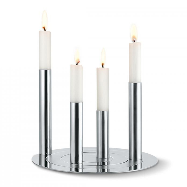 К-т от 4 свещника RONDA