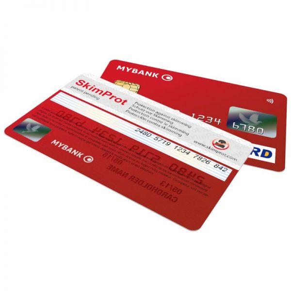Защитен стикер против източване на банкови карти