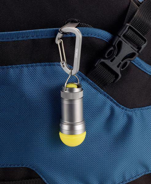 Аварийна лампа с карабинер TROIKA - LICHT-ALARM