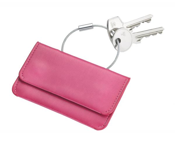 Калъф за кредитни карти и документи TROIKA - COLORI PINK PASSION