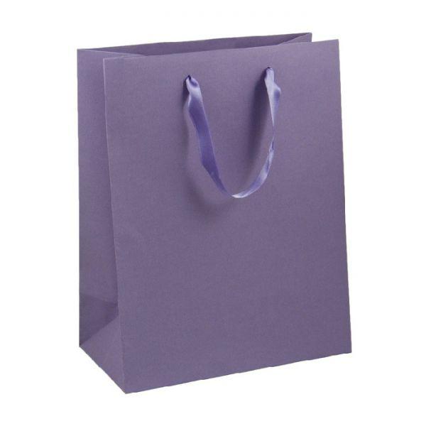 Подаръчен плик лилав - средноголям, 33х26х14 см