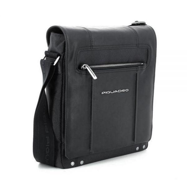 Вертикална чантичка за рамо Piquadro Link