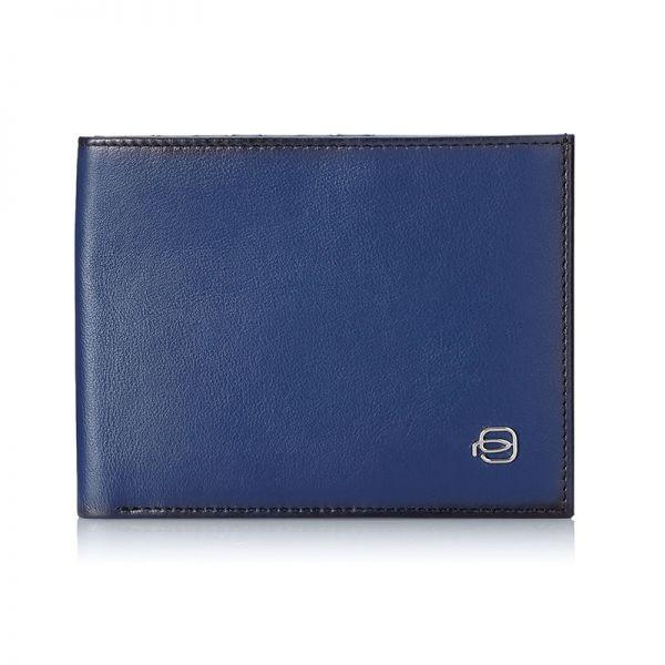 Мъжки портфейл Piquadro с 10 отделения за карти и документи