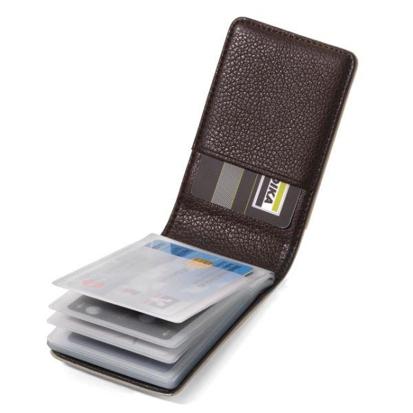 Визитник / Калъф за кредитни карти TROIKA Cappuccino