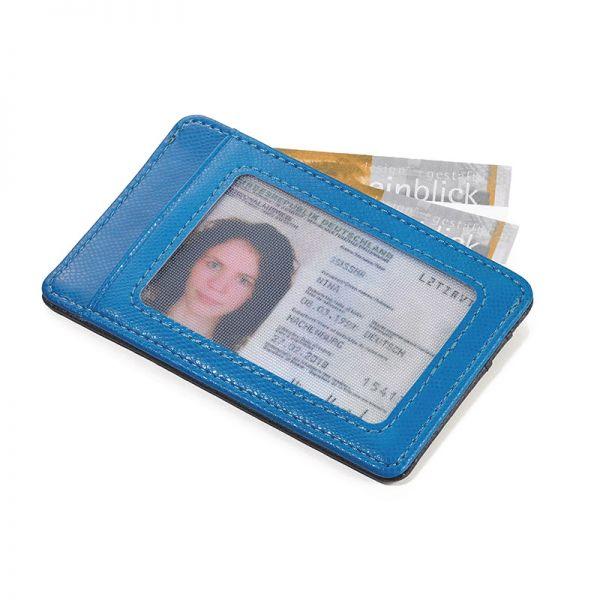 Калъф за кредитни карти и документи TROIKA - COLORI CLEAR MIND