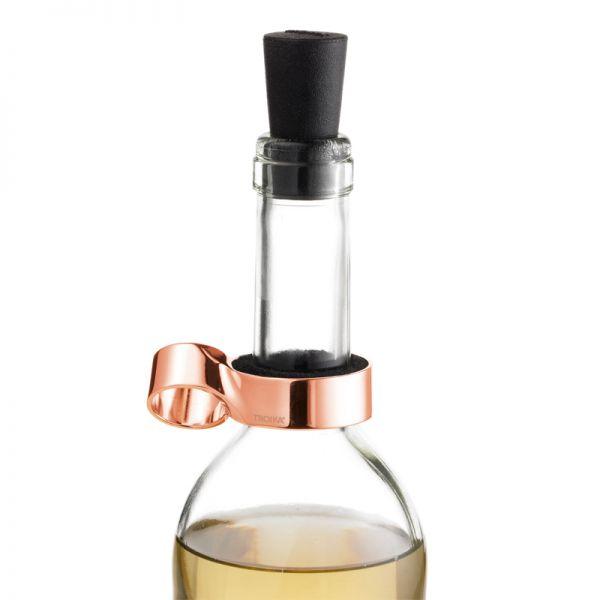 Запушалка за вино TROIKA - WINE@8 ROSE GOLD