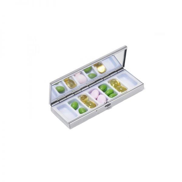 Метална кутия за витамини, лекарства TROIKA - BIRDIE