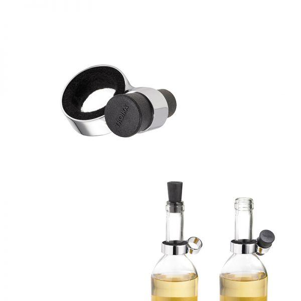 Запушалка (тапа с метален пръстен) за вино TROIKA - WINE