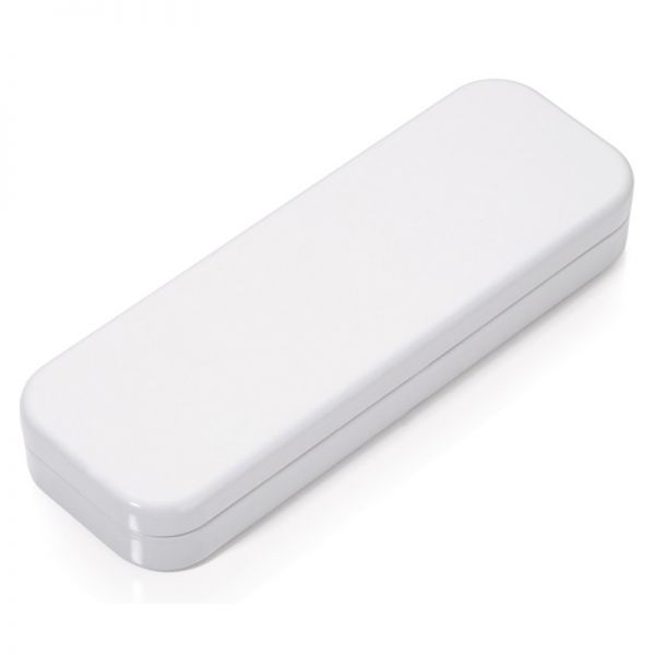 Метална химикалка TROIKA - CLASSIC WHITE