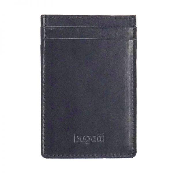 Кожен калъф за кредитни карти Bugatti Primo 3CC