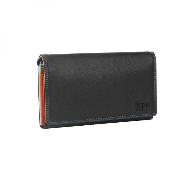 Дамски портфейл Mano с 9 отделения за кредитни карти