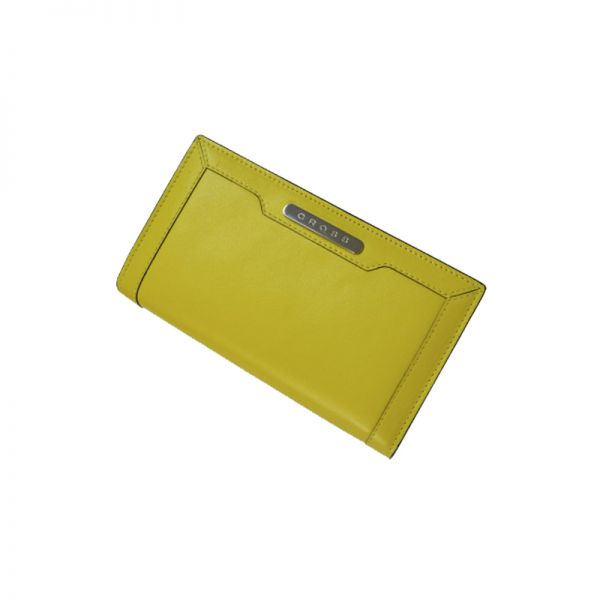 Дамски портфейл (вечерен клъч) Cross Yellow