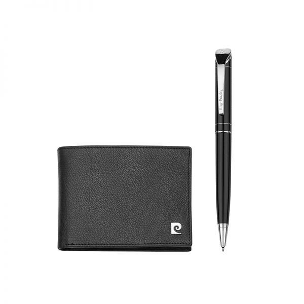 Мъжки сет с портфейл и химикалка Pierre Cardin