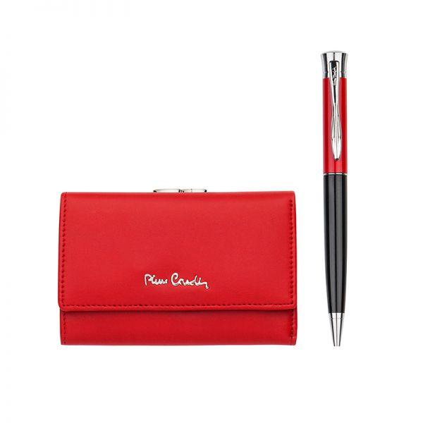Дамски сет PIERRE CARDIN с портфейл и луксозна химикалка