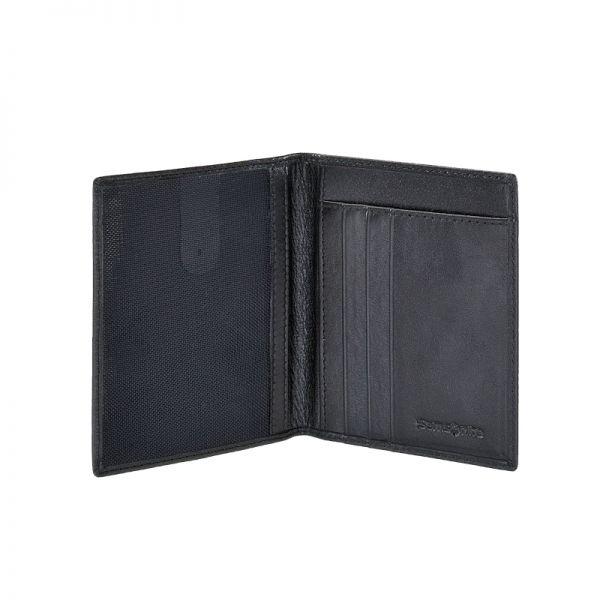 Мъжки портфейл Samsonite с 5 отделения за карти и документи