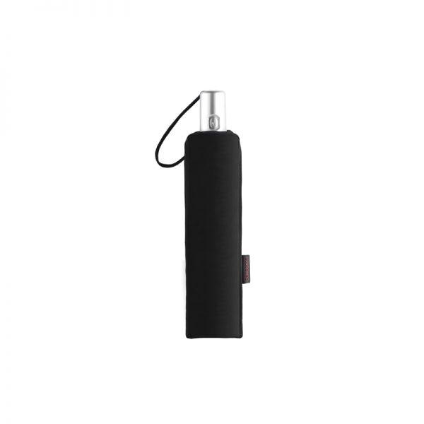Тройно сгъваем черен автоматичен чадър Samsonite