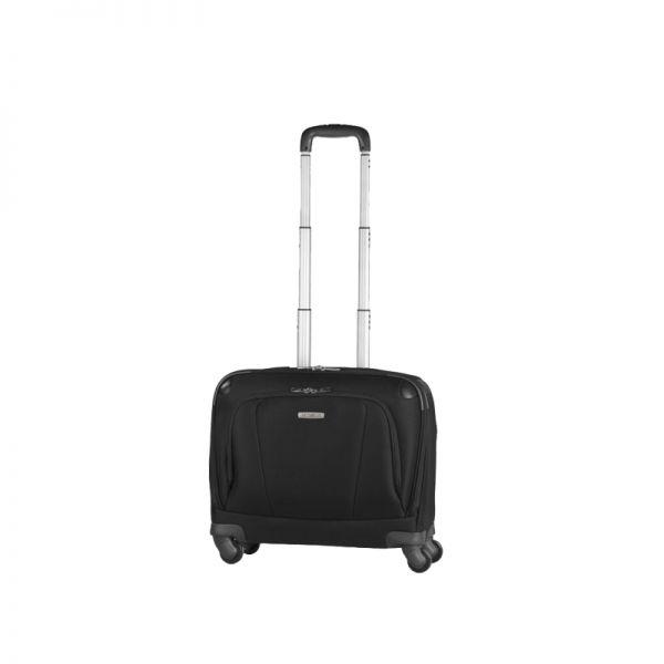 Черен бизнес куфар на 4 колела X'ion3 за 16 инча лаптоп