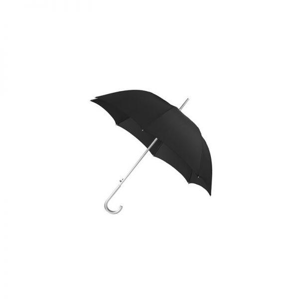 Черен дамски автоматичен чадър