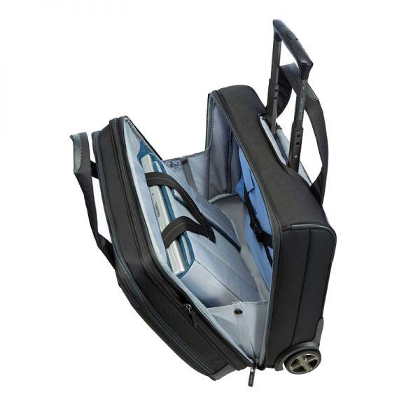 Черен мобилен офис с разширение за 17.3 инча лаптоп Spectrolite