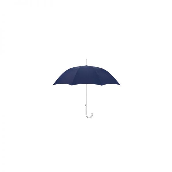 Алуминиев мъжки автоматичен чадър в индигово синьо
