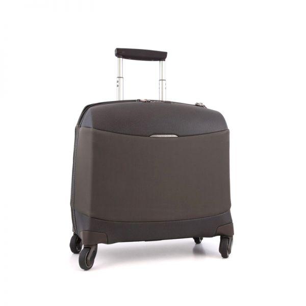 Бизнес куфар на 4 колела Litesphere 16,4 инча лаптоп кафяв цвят
