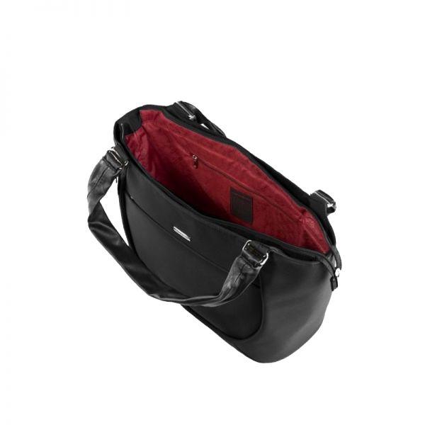 Черна дамска чанта B-Lite LHB