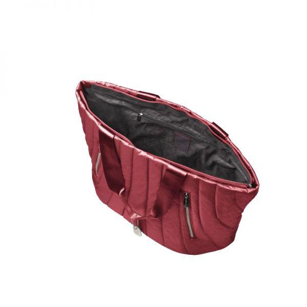 Голяма червена дамска чанта Midtown