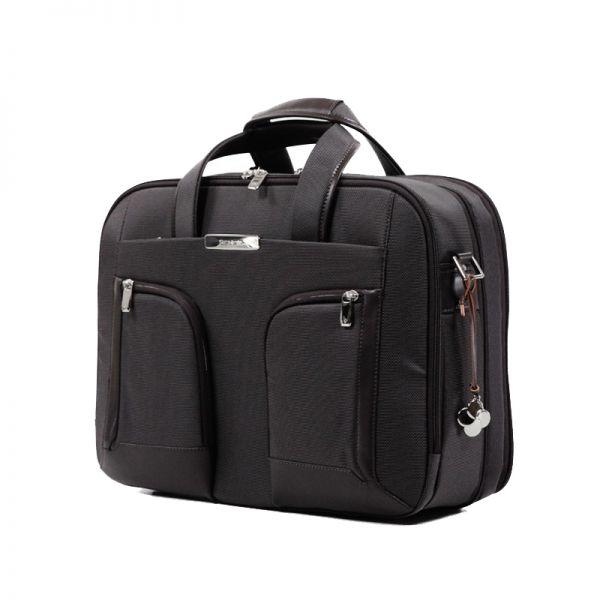 Бизнес чанта с разширение S-Teem за 15,6 инча лаптоп черен цвят