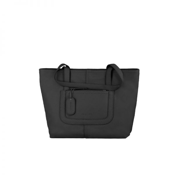 Малка черна дамска чанта Samsonite Park