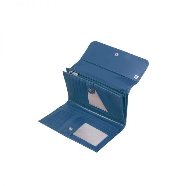 Дамски портфейл Samsonite с 21 отделения за карти и документи