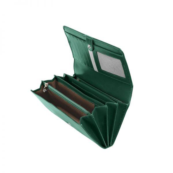 Дамски портфейл Samsonite с 18 отделения за карти и документи