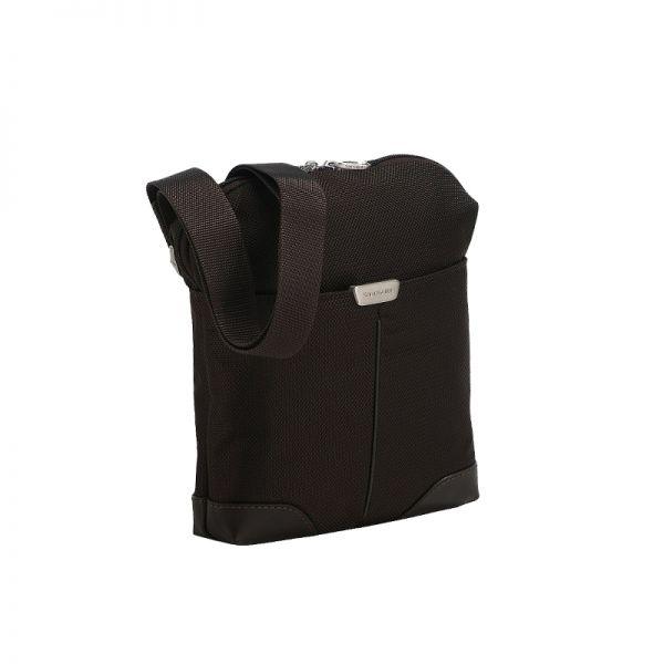 Чанта за рамо за iPAD 9.7' тъмно кафява