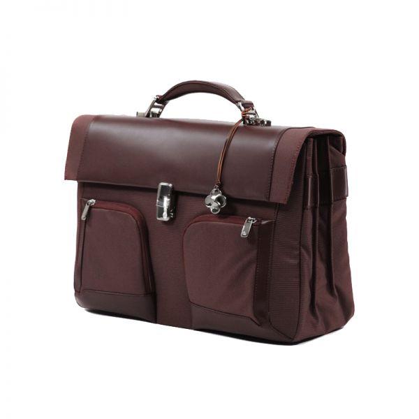 """Бизнес чанта с 3 прегради S-Teem за 16,4"""" лаптоп цвят ръжда"""