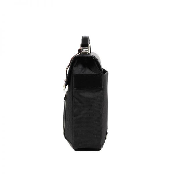 Бизнес чанта с 1 преграда S-Teem за 15,4 инча лаптоп черен цвят