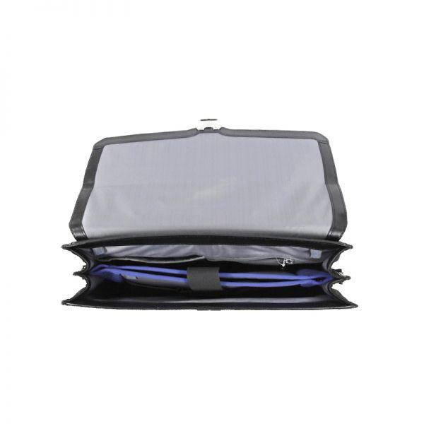 Бизнес чанта с 2 прегради S-Oulite за 15,6 инча лаптоп кафяв цвят