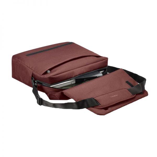 Червена компютърна чанта с капак Network 2 за 16' инча лаптоп