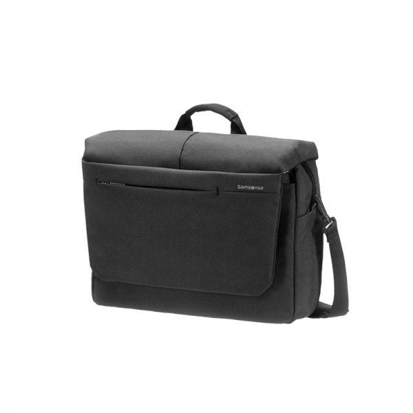 Черна компютърна чанта с капак Network 2 за 16' инча лаптоп
