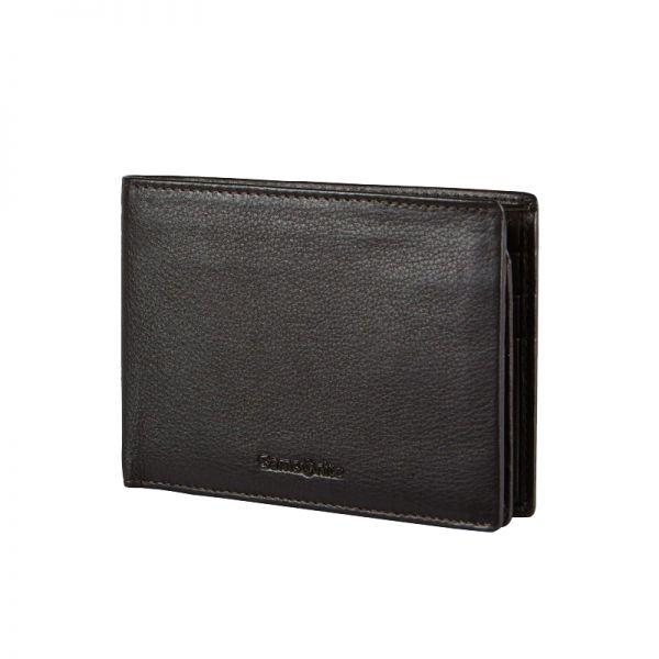 Мъжки портфейл Samsonite с 17 отделения за карти и документи